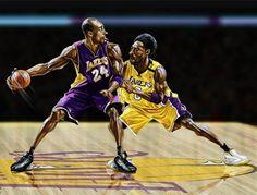 Kobe 24 vs Kobe 8