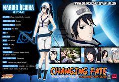 Nariko Uchiha Bio Card (Changing Fate Part 2) by dreamchaser21