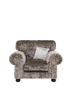 Laurence Llewelyn-Bowen Scarpa Fabric Armchair | very.co.uk Dining Room Shelves, Living Room Storage, Dining Rooms, Affordable Furniture, Furniture Decor, Fabric Armchairs, Velvet Fashion, Chesterfield Chair, Crushed Velvet