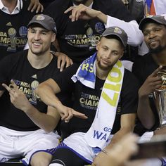 All Three of them made that Game 5, One to Remember There's a new one to the Splash Brothers