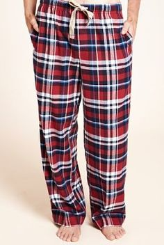North Coast Pure Brushed Cotton Checked Pyjama Bottoms  Product Code: T073757    £19.50