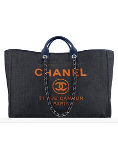 Deauville Tote Chanel SS2017