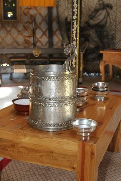 Airag, fermented mare's milk. The airag, first drunk in Mongolia over 1000 years ago, and it is still revered and enjoyed by Mongolians.