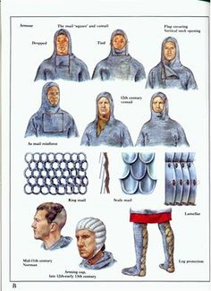 Some incorrect dating but not bad Norman Knight, Armadura Medieval, Medieval World, Early Middle Ages, Medieval Weapons, Knight Armor, Arm Armor, Fantasy Armor, Knights Templar