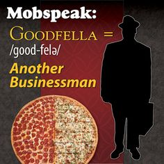 I only let da goodfella's eat at my favorite pizza joint with me! #mobspeakmonday #godfatherspizza #pizza