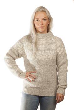 - Icelandic Fönn Wool Sweater Grey - Wool Sweaters - Nordic Store Icelandic Wool Sweaters