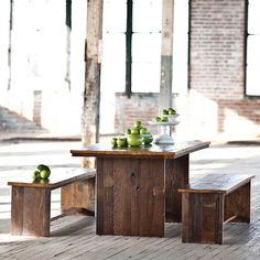 Jackson Dining Collection $445-$1,010 from reclaimed wood