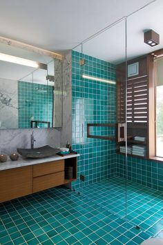 Banyo Keyfini Katlamak İsteyenler İçin İlham Kaynağı 10 Renkli Banyo - Harika Ev Tasarımları