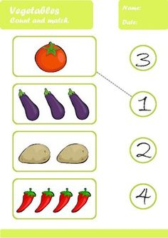 Vegetables Worksheets Age by Elena Dincheva Flashcards For Toddlers, Toddler Worksheets, Tracing Worksheets, Kindergarten Worksheets, Math For Kids, Activities For Kids, Preschool Charts, Mazes For Kids Printable, Learning Time