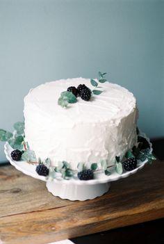 #berries, #recipe, #summer, #blackberry, #basil, #dessert, #pound-cake, #cake-decorating  Photography: Lisa Dolan Photography - www.lisadolanphotography.com  Read More: http://www.stylemepretty.com/living/2014/01/23/blackberry-basil-swirl-pound-cake-recipe/