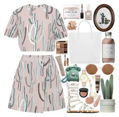 """""""B I R T H D A Y / /"""" by queen-laureen ❤ liked on Polyvore featuring MSGM, Creatures of Comfort, Sunday Somewhere, French Girl, Herbivore, NARS Cosmetics, FOSSIL, Gorjana, Kate Spade and Aesop"""