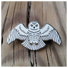 """""""A Year at Hogwarts"""" - Harry Potter book 7 inspired enamel pin, the Sn                      – AishaVoya Creations"""