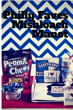 Philly Faves Gift Basket for Purim or anytime - get ideas for your own favorites theme. #ChosenCandy