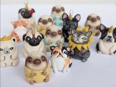 Polymeri Online - Iris Mishly Polymer Clay Blog: Polymeri Online 27.12.15 | Dancing to the sound of polymer clay, Land of horned beasts, Polar sculpturing & Little Vili's furry dolls | Last post for 2015!