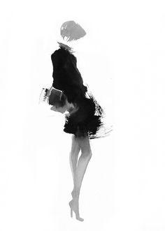 FartS^ Aurore De La Morinerie - Encre I   Gallois Montbrun & Fabiani #fashion #draw #illustration