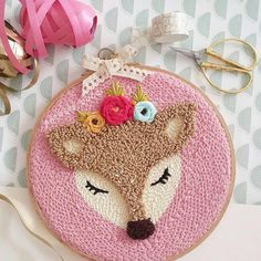 Weekly I'll have anything new to understand or a straightforward challenge to make. Hand Embroidery Stitches, Embroidery Hoop Art, Ribbon Embroidery, Embroidery Patterns, Print Patterns, Macrame Youtube, Punch Needle Patterns, Sewing Stitches, Punch Art