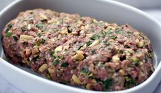 Lchf, Keto, Pork Recipes For Dinner, Meatloaf, Brunch, Food And Drink, Cooking Recipes, Dishes, Vegetables