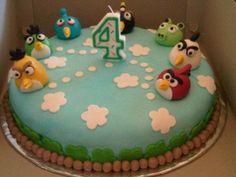 Angry Bird Cake :)