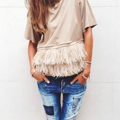 Fringe is in. #FevrieFashion *through February 28, 2015 mention code 'storyofmydress' for a 15% discount at fevrie.com!