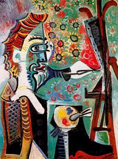Pablo Picasso El Pintor (III), 1963