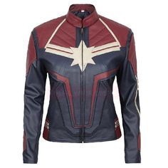Shop a great selection of Brie Larson Captain Marvel Short Body Leather Jacket. Find new offer and Similar products for Brie Larson Captain Marvel Short Body Leather Jacket. Vintage Leather Jacket, Lambskin Leather Jacket, Biker Leather, Faux Leather Jackets, Leather Men, Leather Jacket Brown, Captain Marvel Costume, Marvel Costumes, Brie Larson