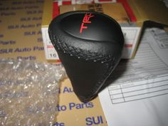 Toyota Tacoma TRD Black Leather Automatic Shifter Knob Handle OEM NEW 2011-2014 in eBay Motors, Parts & Accessories, Car & Truck Parts | eBay