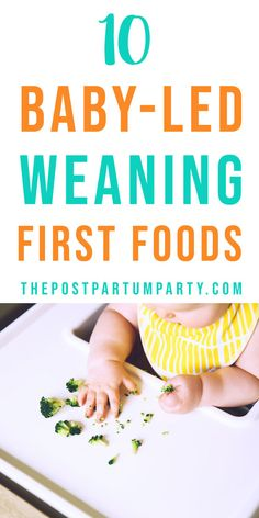 See some of our favorite foods to use as the first foods with baby-led weaning! You can make these BLW first foods for the whole family. Just modify them to be safe for your baby who is just getting started with baby-led weaning.
