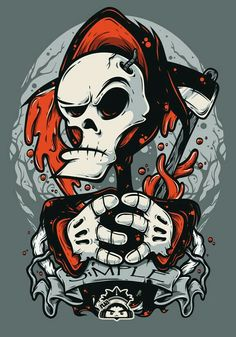 Skull billy & mandy