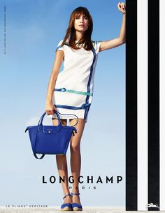 Longchamp Spring Summer 2015 - Alexa Chung photographed for Longchamp  Fashion Pants 41b592f56be95
