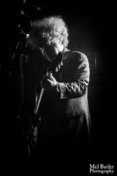 William Reid. The Jesus And Mary Chain. Cosmosis Festival, Manchester, March 2016