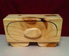 Reclaimed Pine Wood Jewelry/keepsake Box