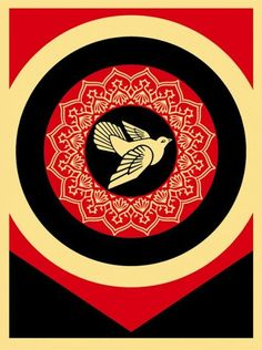 Obey Dove Black - ☮ OBEY Shepard Fairey street artist ~ Psychedelic Hippie Peace Art Poster, revolution OBEY style, street graffiti, illustration and design. Shepard Fairey Prints, Shepard Fairey Obey, Illustrations, Illustration Art, Shepard Fairy, Obey Art, Propaganda Art, Peace Dove, Peace Art
