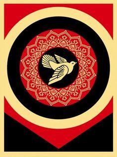 Obey Dove Black - ☮ OBEY Shepard Fairey street artist ~ Psychedelic Hippie Peace Art Poster, revolution OBEY style, street graffiti, illustration and design. Shepard Fairey Prints, Shepard Fairey Obey, Illustrations, Illustration Art, Shepard Fairy, Obey Art, Propaganda Art, Institute Of Contemporary Art, Peace Dove