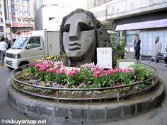 渋谷モヤイ像 shibuya