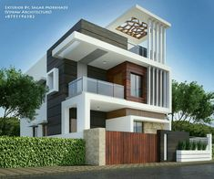 House elevation, front elevation designs, facade house, ultra modern homes, Modern Bungalow Exterior, Modern Exterior House Designs, Modern House Plans, Modern House Design, 3 Storey House Design, Bungalow House Design, House Front Design, Home Building Design, House Elevation
