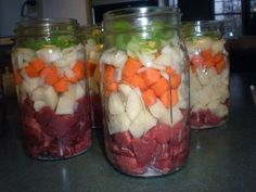 Homemaking on the Homestead: Canning Beef Stew (I do this too, but I can meat by itself in pint jars and the chunky vegetables in quart jars. Mix together when ready to eat!)