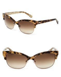 kate spade new york Shira Cat Eye Sunglasses