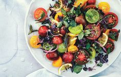 Tomato, Onion, and Roasted Lemon Salad Recipe - Bon Appétit