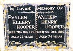 This is the short family history for Walter henry Hooper and his wife Evelyn Ellery Tacon Digital Marketing Services, History, Historia