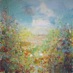 "Saatchi Online Artist: Sandy Dooley; Acrylic, 2013, Painting ""High Summer"""
