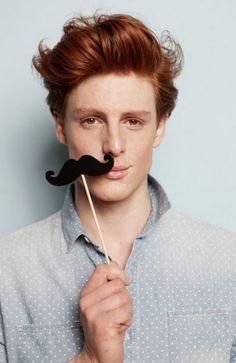 lovingmalemodels:  Niko #redheads
