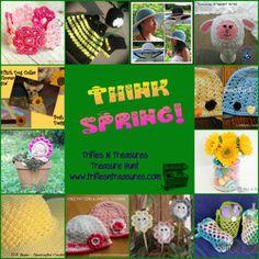 THINK SPRING- free spring crochet patterns