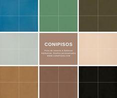 Baldosas hidraulicas, #colores . Pisos de cemento #Conipisos. #tiles #concrete #interiordesignideas #azulejos Interior Exterior, Tile Floor, Flooring, Texture, Crafts, Tiles, Tiles, Mosaics, Cement Floors