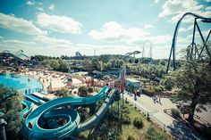 Win a Trip to THORPE PARK for 4! Enjoy 2 day resort tickets with unlimited Fastrack, 'First to Ride' entry each day. Stay overnight at the THORPE SHARK hotel inc. buffet breakfast and parking! #competitions #thorpepark
