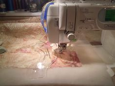 Amy's Free Motion Quilting Adventures: Quilting with Rulers on a Domestic Sewing Machine