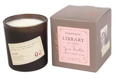 Library Candle - Jane Austen Only the best candles out there. Paddywax