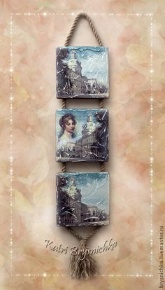 """Триптих для дома """"Царская эпоха"""". Handmade. $38"""