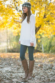 Chic In Chiffon Sweater, White - The Mint Julep Boutique