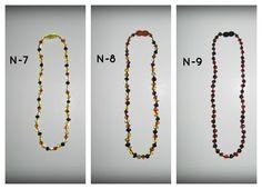 Baltic Amber Teething Necklaces ~ N-7; N-8; N-9 **$15 each