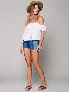 FP Beach Free to Be Top at Free People Clothing Boutique